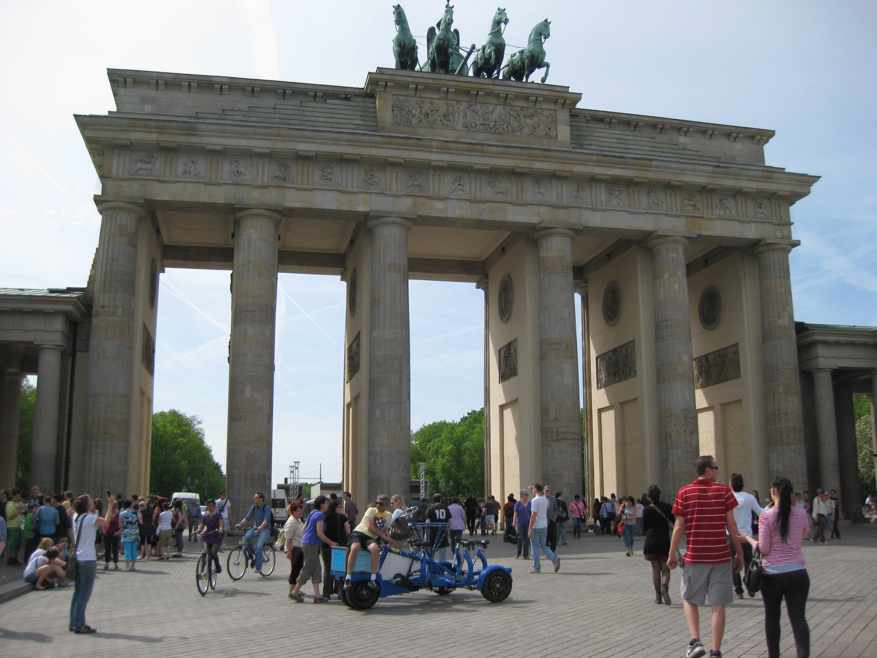 Brandenburger Tor in Berlijn (foto: kleineduitsecampings.nl)-campings